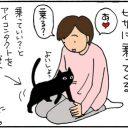 猫で腹筋を鍛える4コマ猫漫画