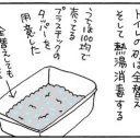 コクシジウムウンチとの戦いの猫漫画