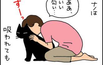 猫を吸う漫画