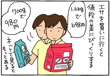 よいネコエサとは4コマ猫漫画