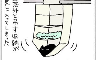 しっかりしたつくりは嫌な猫の4コマ猫漫画