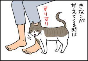 甘える猫の漫画