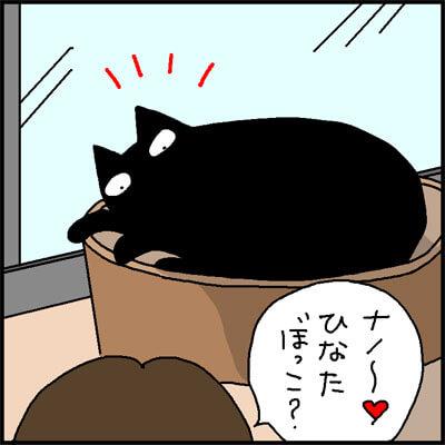 近寄るとドクドクの4コマ猫漫画