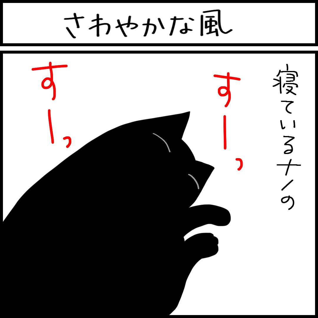 こんなことが幸せに感じるネコとの暮らしの4コマ猫漫画