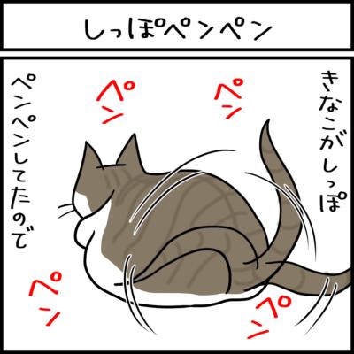 新しい遊びの4コマ猫まんが