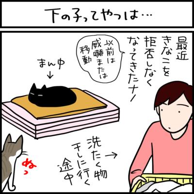 末っ子猫は天真爛漫な4コマ猫まんが