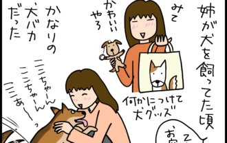 猫バカ犬バカの4コマ猫漫画